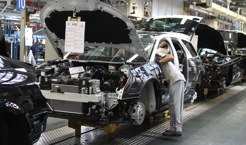 Fabricación Citroën C5 X7