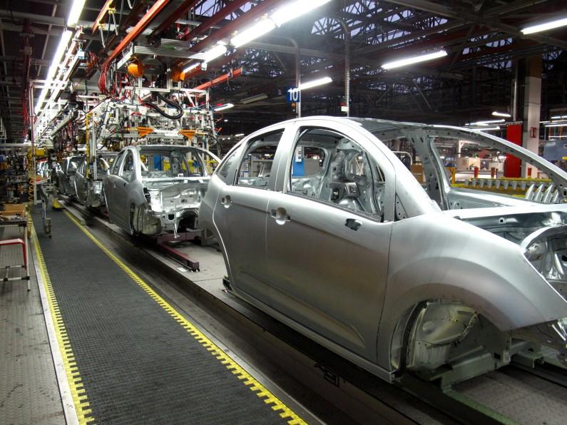Fabricación Citroën C2