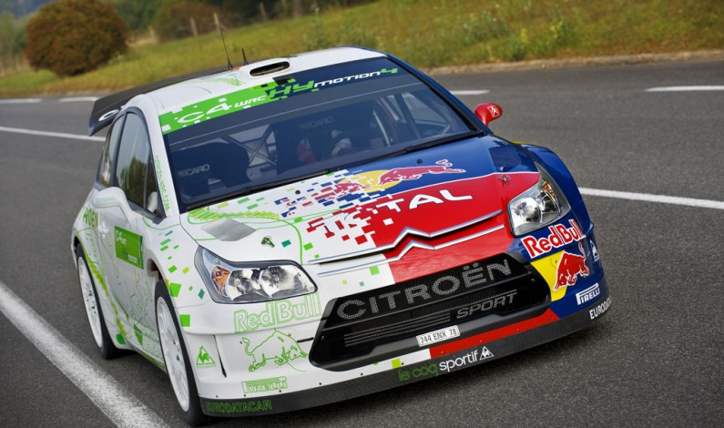 Citroën C4 WRC HYmotion4.