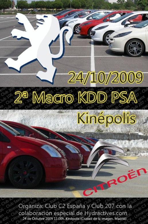 Éxito en la KDD PSA 2009.