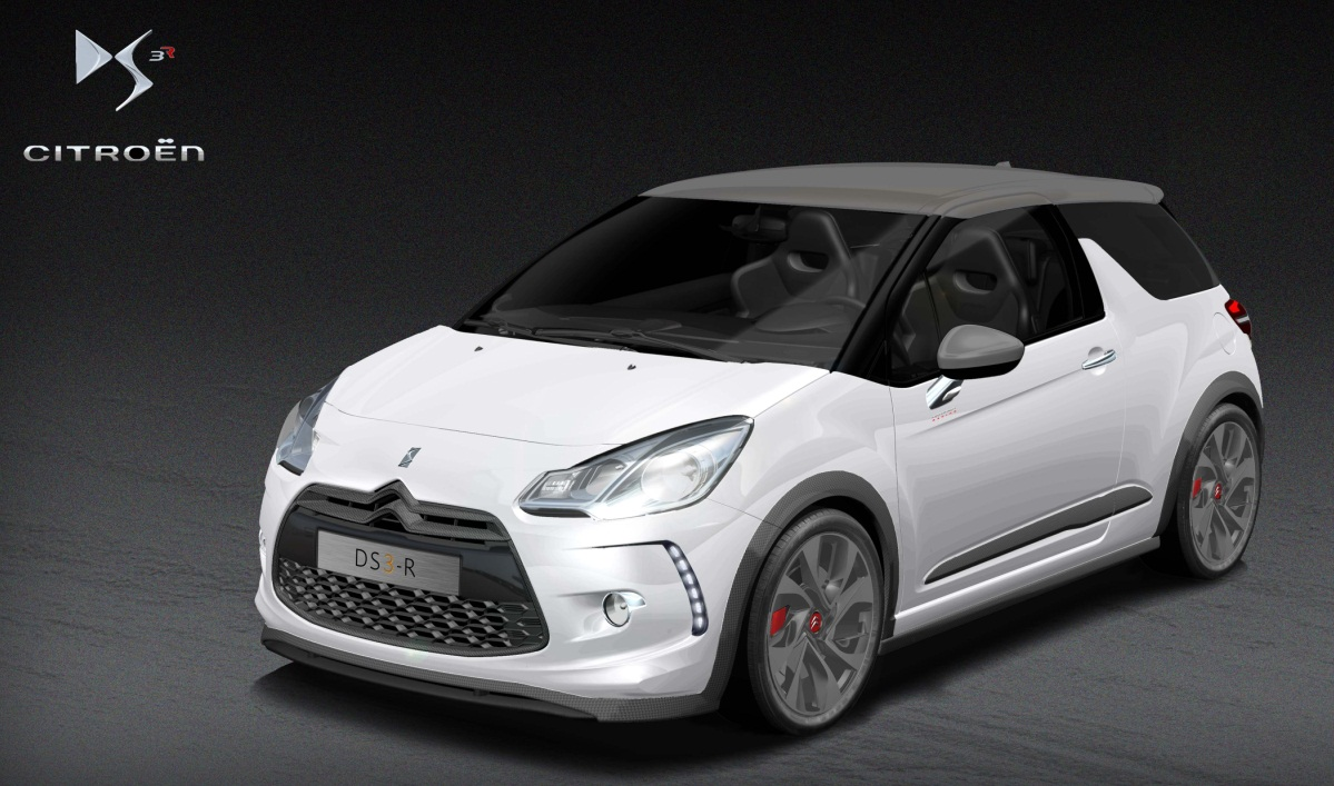 Citroën DS3 Racing: A París