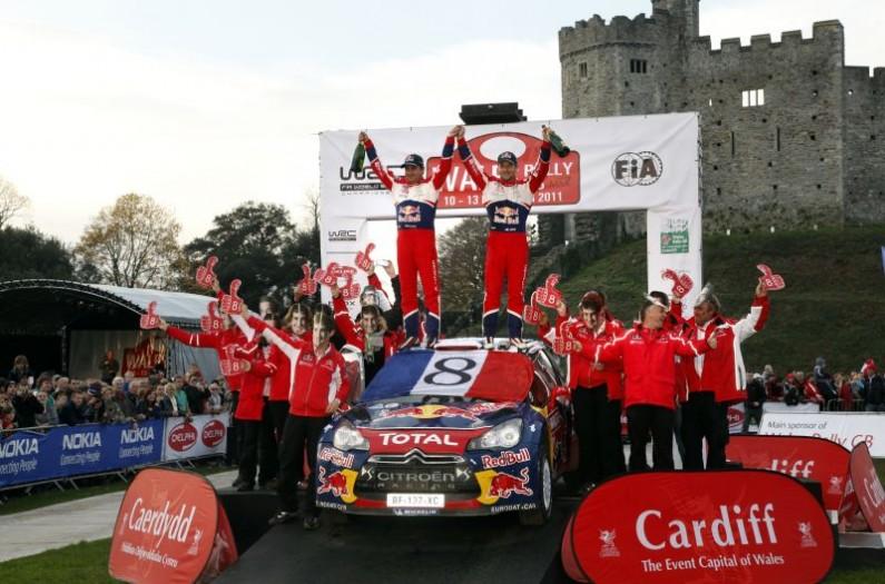 Sébastien Loeb y Daniel Elena Campeones del Mundo 2011
