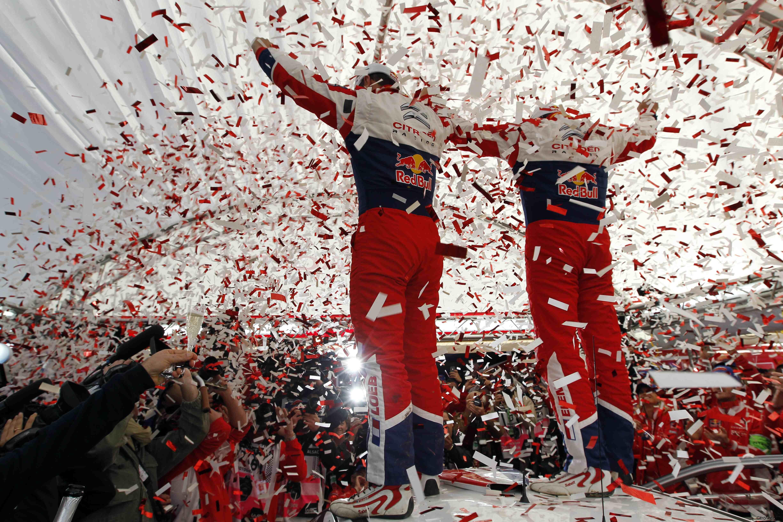 Loeb, Elena y Citroën campeones del Mundo 2012!