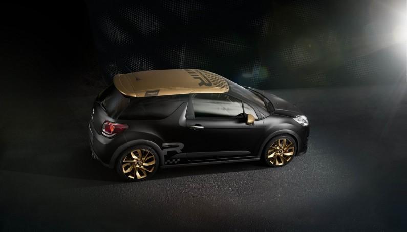 Nueva Serie limitada DS3 Racing Gold Mat: 34.600€