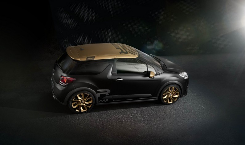 Nueva Serie limitada DS3 Racing Gold Mat: 34.600€