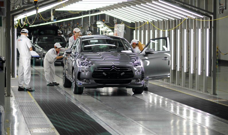 El Citroën DS5 inicia la producción en China.