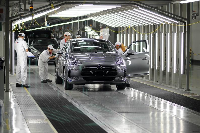 El Citroën DS5 inicia la producción en China.