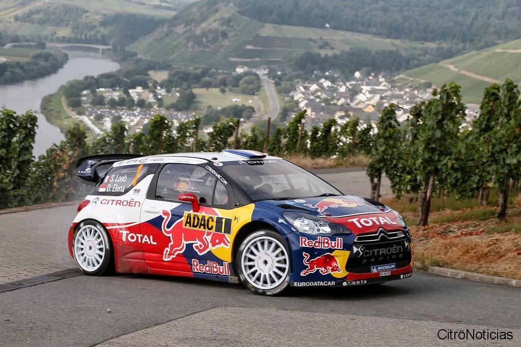 Sebastien Loeb - Rally Alemania 2012