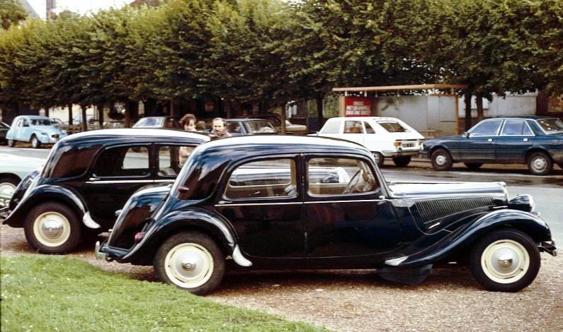Aniversario Citroën Traction Avant