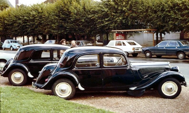 Aniversario Citroën Traction Avant