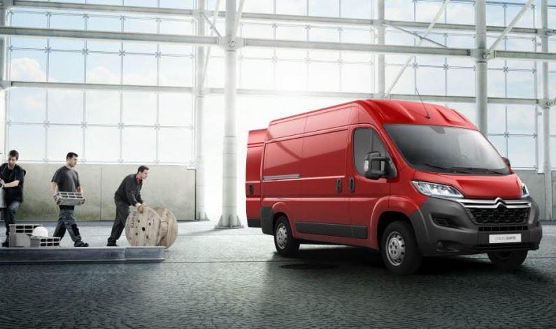 Citroën, a la cabeza en vehículos comerciales