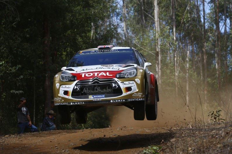 Rally de Australia: Kris Meeke entre los primeros