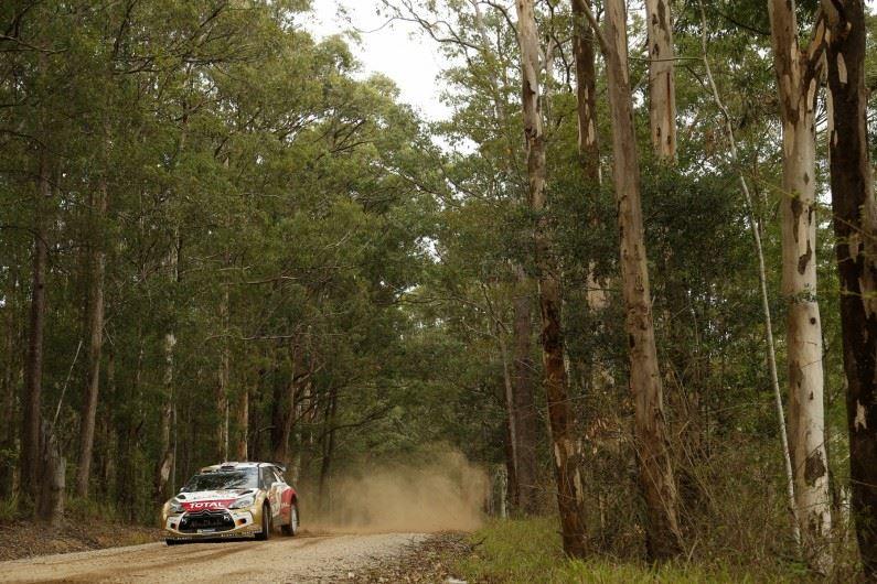 Rally Australia: Kris Meeke mantiene el ritmo.