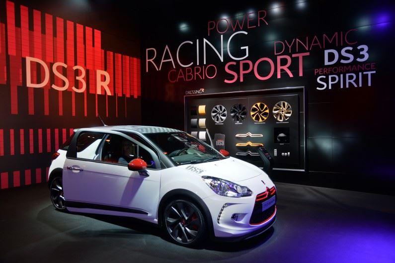 DS 3: Tres opciones DS 3 Racing 207cv y motores e-THP 110cv y THP 165cv.