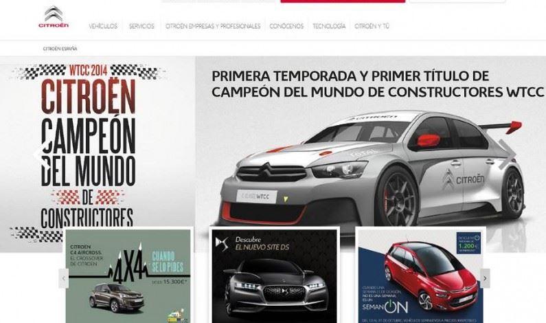 Citroën se reinventa en la web