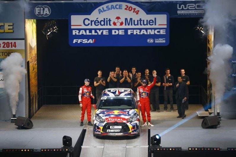 Victoria para Fisher en el Rally de Francia – Alsacia