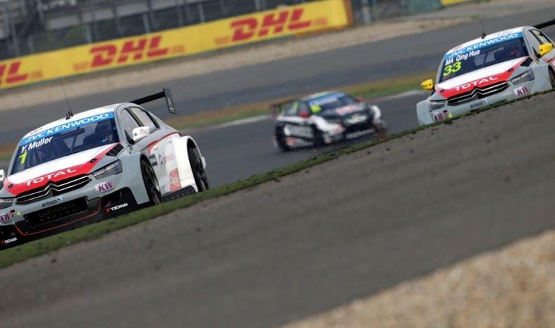 Citroën Racing más próxima al título mundial WTCC