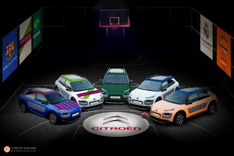 Citroën con la Euroleague y la Eurocup