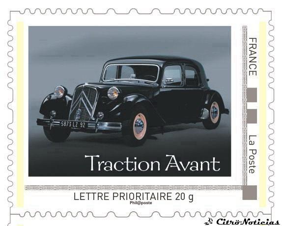 Citroën y su historia, ¡En sellos!
