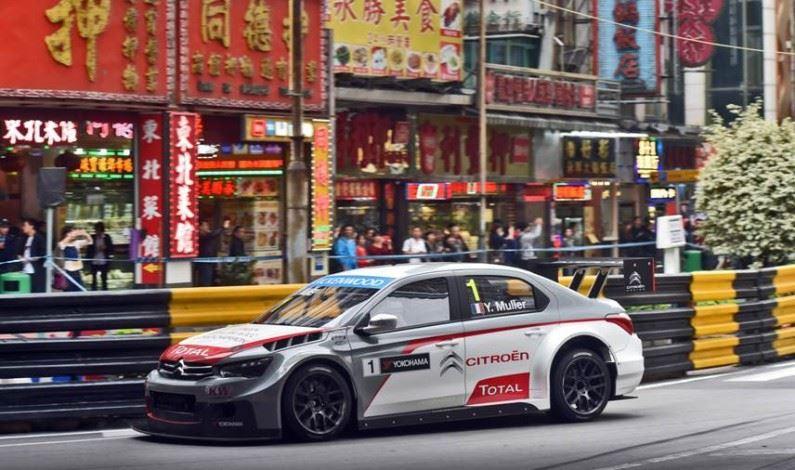 Pleno para Citroën en las calles de Macao