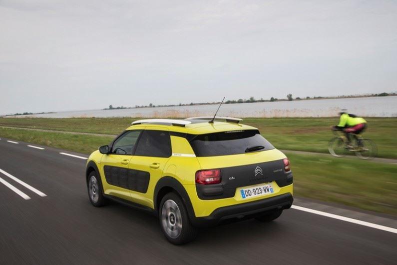 El Citroën C4 Cactus no pasa desapercibido