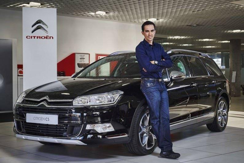 Citroën, proveedor oficial de vehículos de la Fundación Alberto Contador