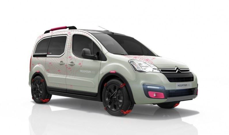 Citroën Berlingo Mountain Vibe Concept