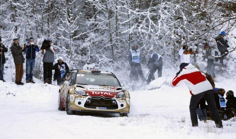Abundante nieve en Suecia para los DS 3 WRC y DS 3 R5 de Citroën Racing.
