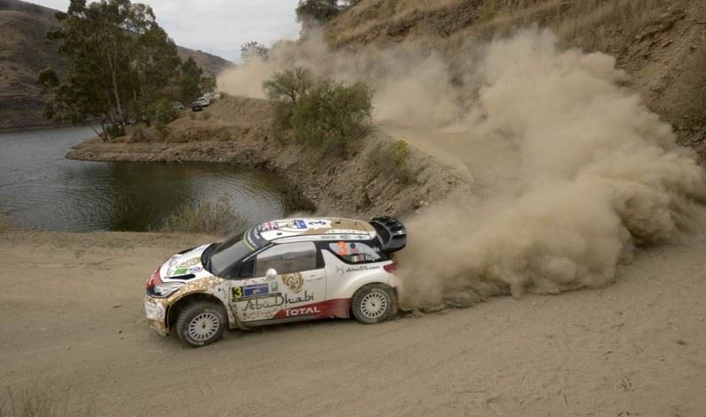 Podio para el Citroën Total Abu Dhabi World Rally Team