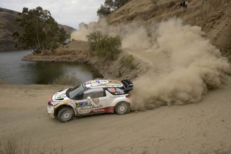 Podio para el Citroën Total Abu Dhabi World Rally Team