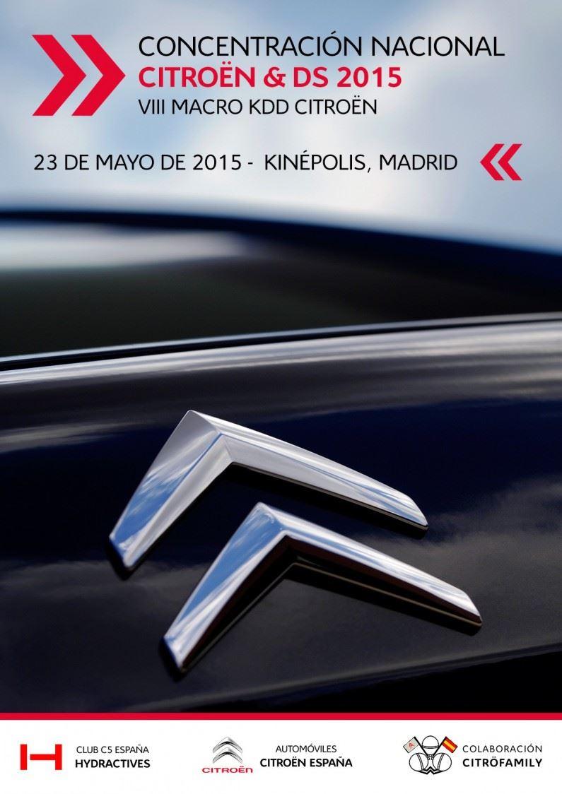 Macro KDD Citroën 2015: 23 de Mayo del 2015.