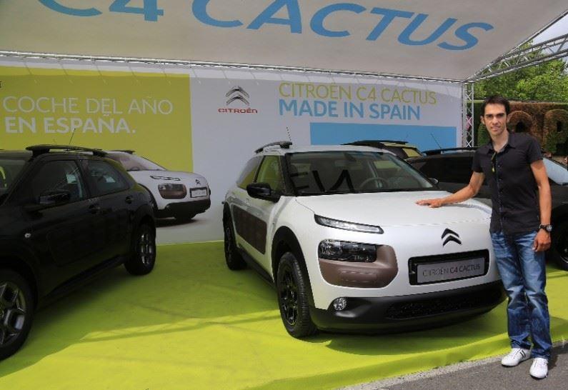 Citroën España en la V Marcha Cicloturista