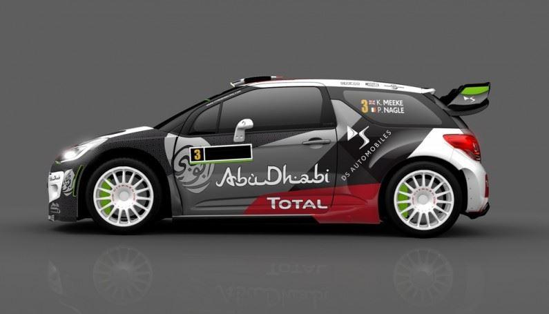 Los DS 3 WRC vuelven con nuevos colores