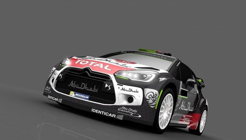 """El DS 3 WRC estrena """"nuevo look"""" en Portugal"""