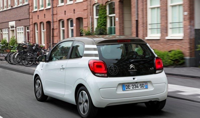 El nuevo Citroën C1 estrena «Active City Brake»