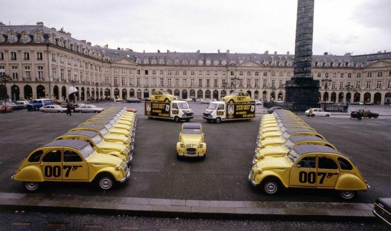 ¡Los Citroën en el Cine!