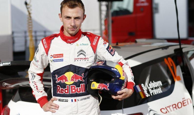 Stéphane Lefebvre pilotará un DS 3 WRC.