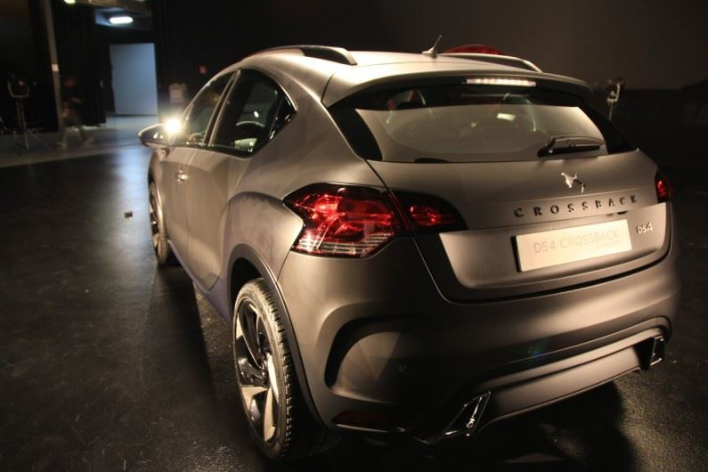 Show-car DS: ¿DS 4 CrossBack Concept?