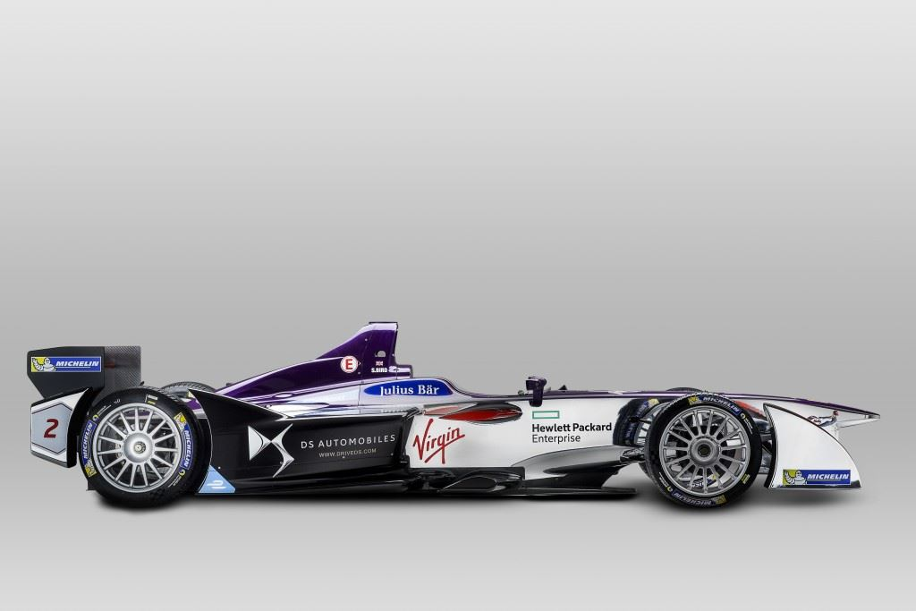 DS Virgin Racing Side On