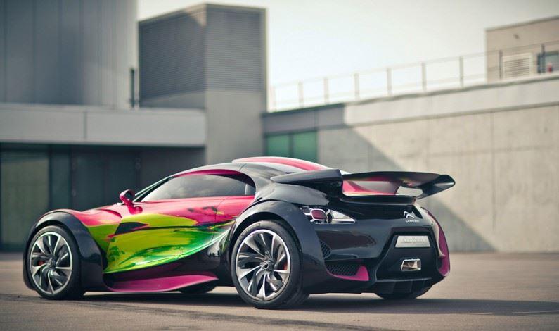 """Citroën SURVOLT: """"ARTCAR"""""""
