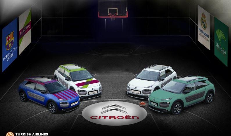 Citroën España, patrocinador oficial de la Euroleague.