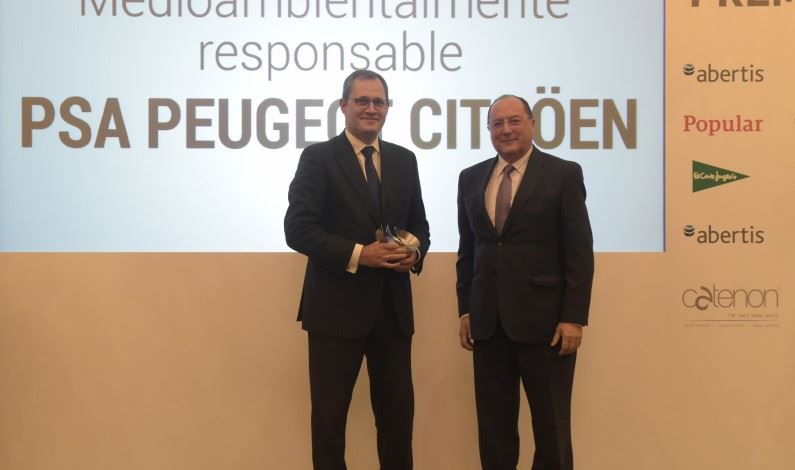 PSA Peugeot Citroën: Premio a la Empresa Medioambientalmente Responsable