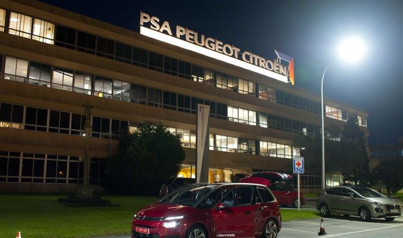 Road trip por Europa de un prototipo PSA Peugeot Citroën 3.000 km en modo autónomo.