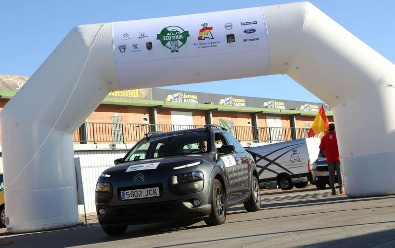 El C4 Cactus: Mejor consumo en el Eco Rally Auto Bild.