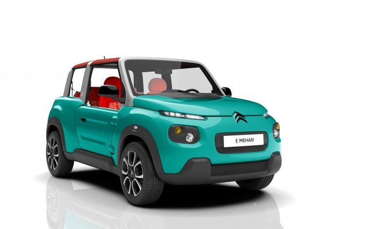 Citroën eMehari: ¡Llega el nuevo eléctrico asequible!