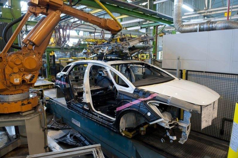 Fabricación DS 5 en Sochaux