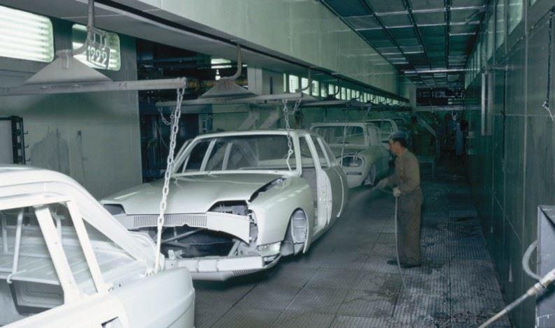 CitröPasado: Fabricación Citroën GS