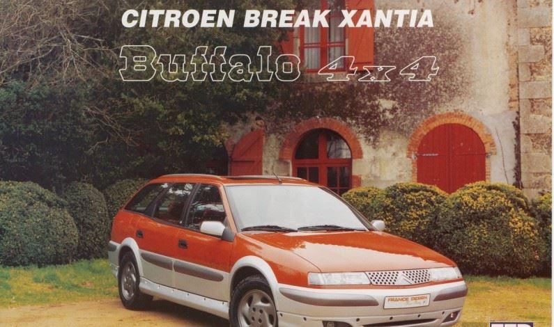 CitröPasado: Citroën Xantia Buffalo 1996