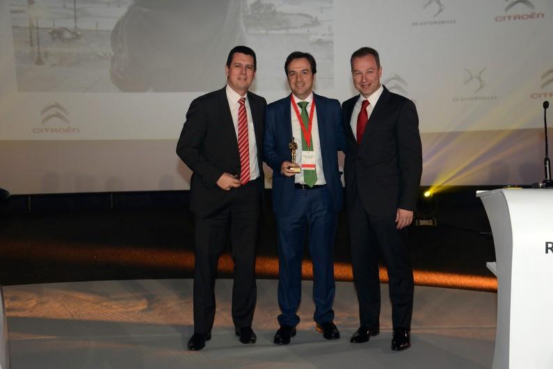 AuraCar: Premio al Mejor Concesionario Oficial Citroën 2015