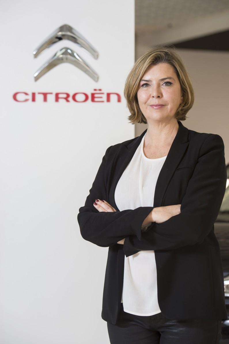 Concha Caja, Responsable de Comunicación de Citroën España.